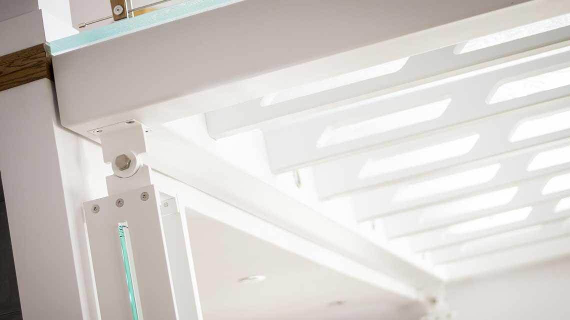 Structure métallique plancher