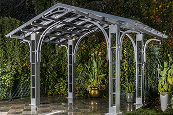 Pergola design contemporain