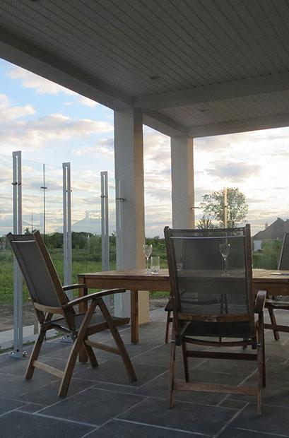Pare vent pour terrasse
