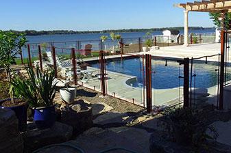 Clôture pour piscine