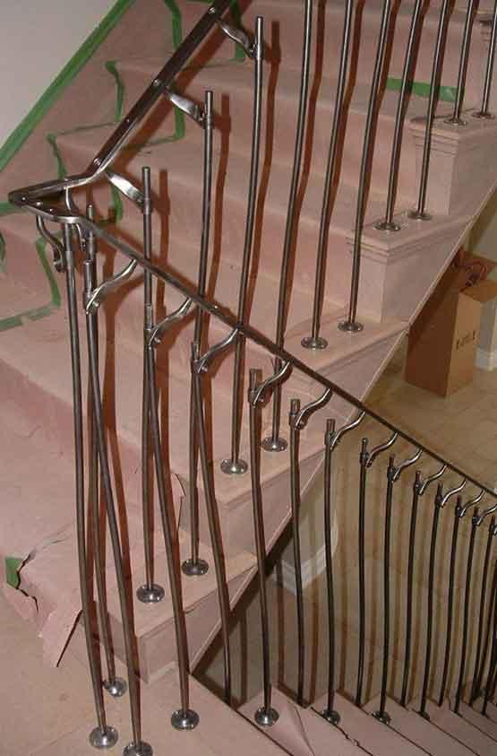 Garde corps pour escalier